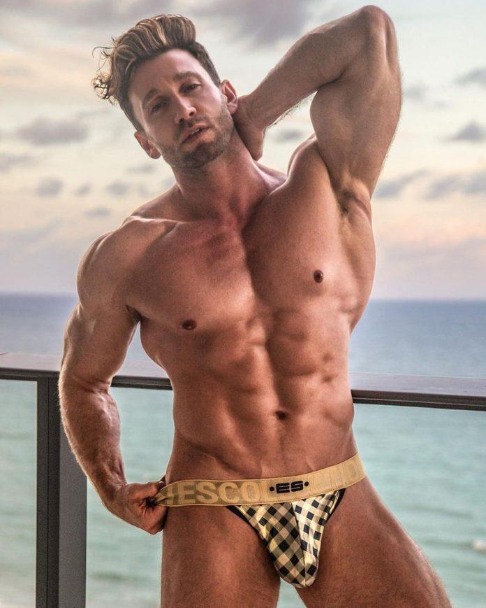 Squares Gold Bikini
