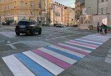 Trans-Pride-Zebrastreifen