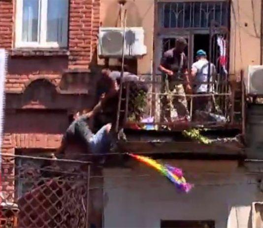Unruhen in Tiflis